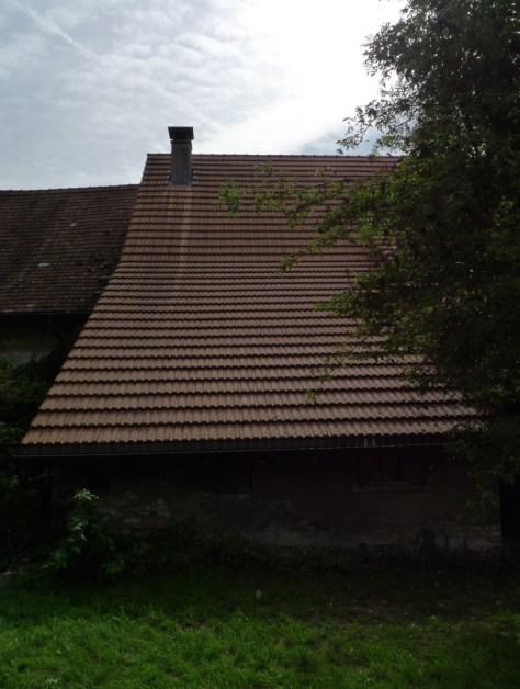 Rückseite des Hauses Wyttenbach
