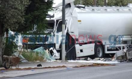 Δύο νεκροί και ένας σοβαρά τραυματίας από το σφοδρό τροχαίο στην Κορωπίου – Μαρκοπούλου