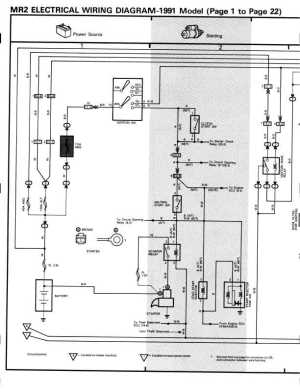 1991 MR2 BGB Online  Electrical  Electrical Wiring Diagrams