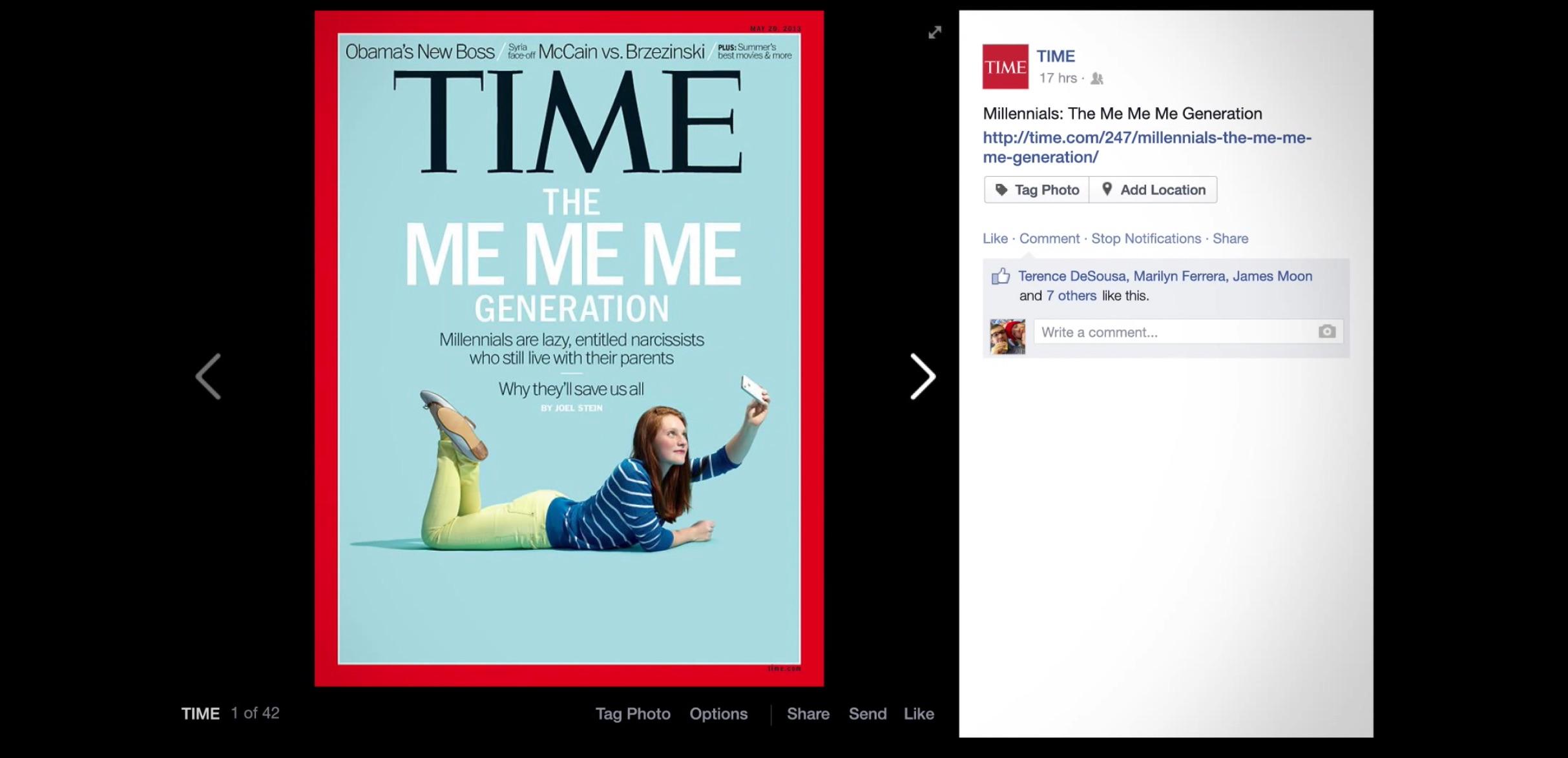 the me me me generation time