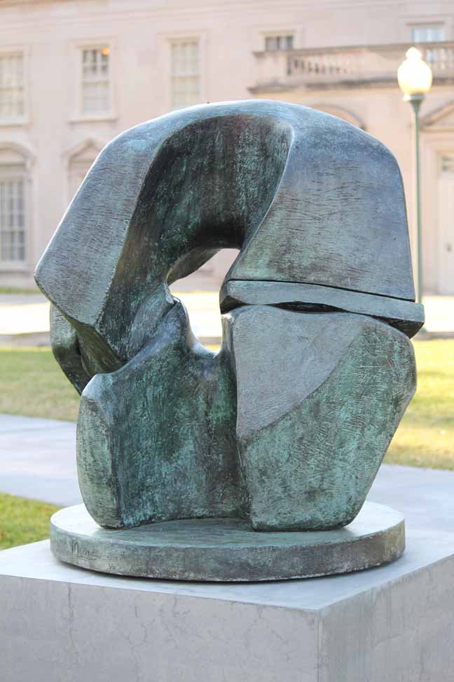 Henry Moore, bronze (multiple views)