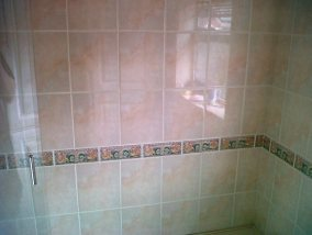 Grout Colouring Bathroom After