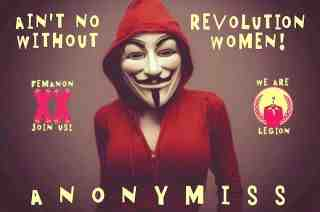 We do not Forgive. We do not Forget. We are Anonymous. Expect Us. Even if some of us will be arrested, imprisoned, killed, we always reborn with new members, because an idea does not die  (5/6)