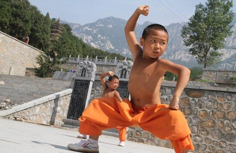 stage kung-fu chine