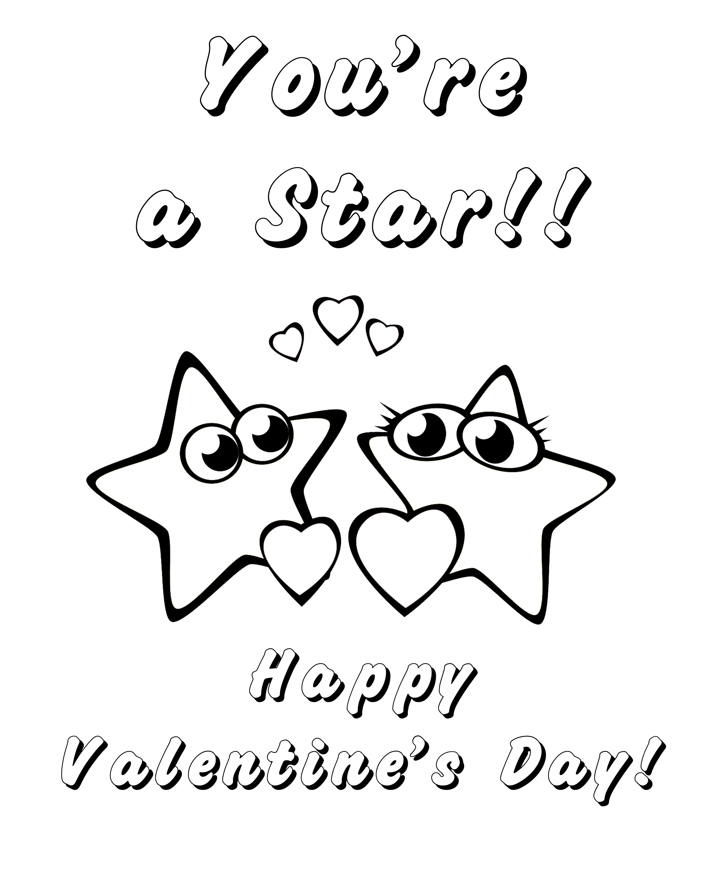 Free Printable Valentine's Day Coloring Pages for Kids