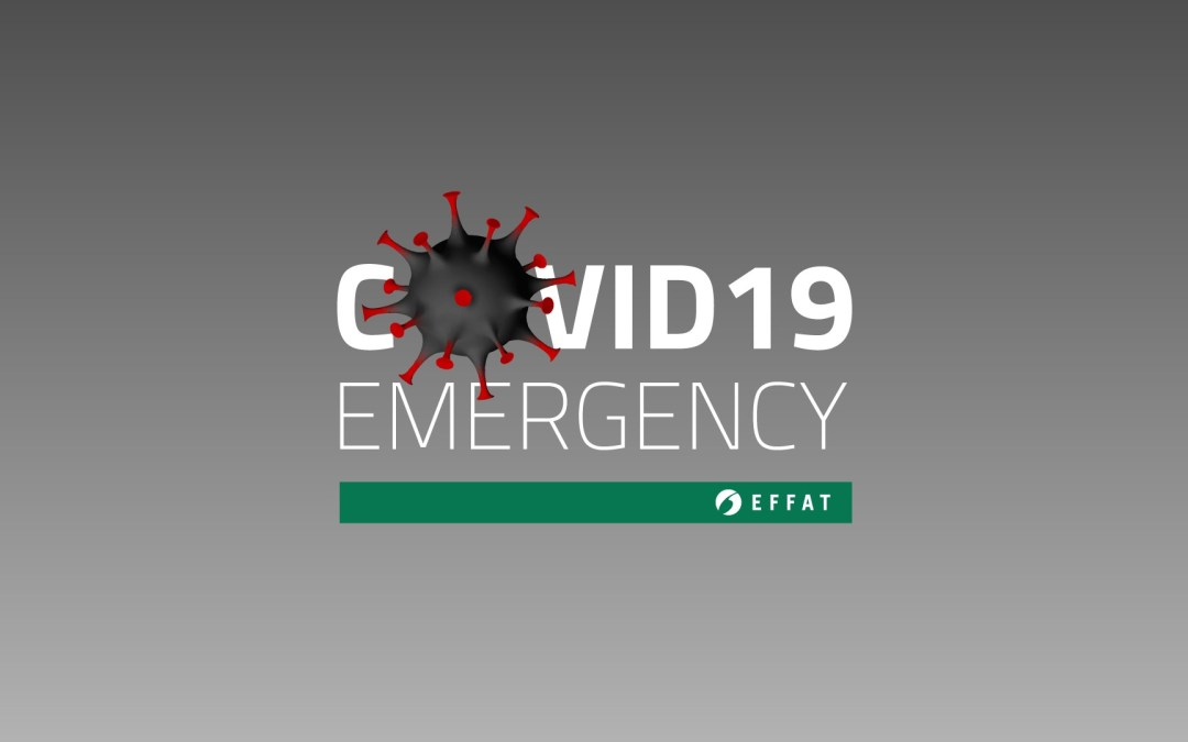 COVID-19 Emergency | EFFAT launches new page highlighting  impact on EFFAT sectors & affiliates' updates