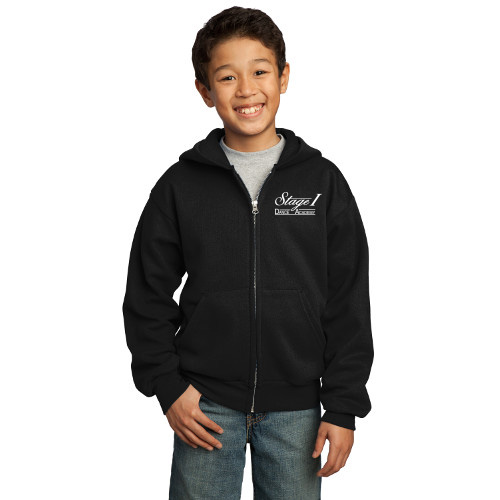 Stage I Youth Full Zip Hoodie