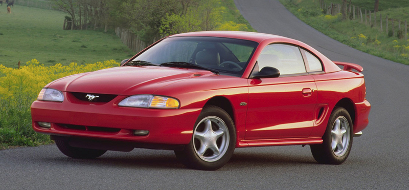1996 Mustang Information & Specifications