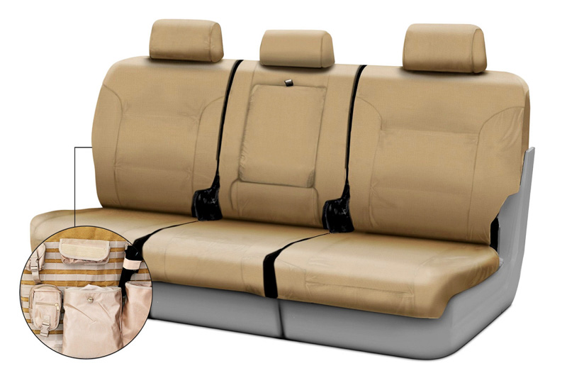 20112012 F150 Coverking Ballistic Cordura Rear Seat