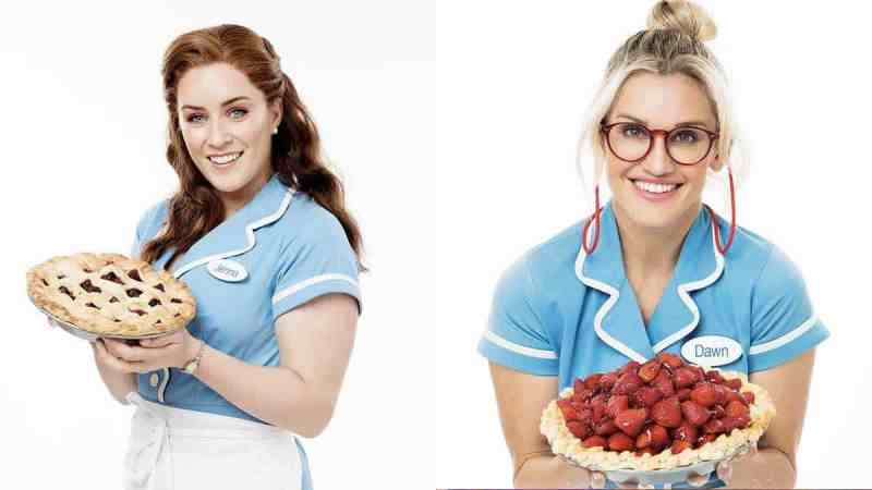 waitress london lucie ashley