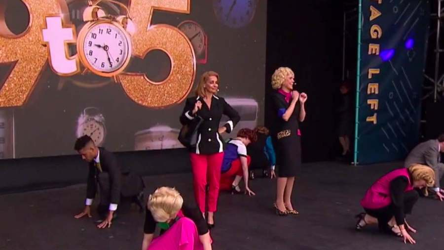 9 to 5 musical west end