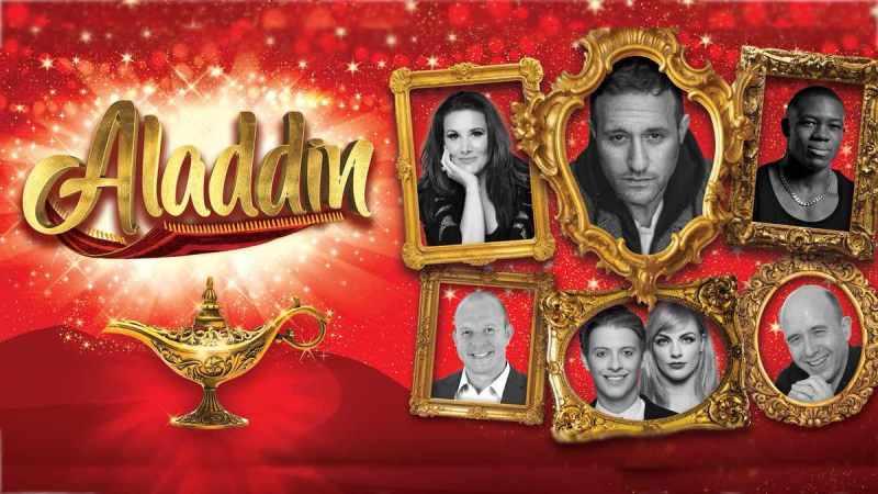 aladdin Leicester De Montfort Hall panto 2019 cast