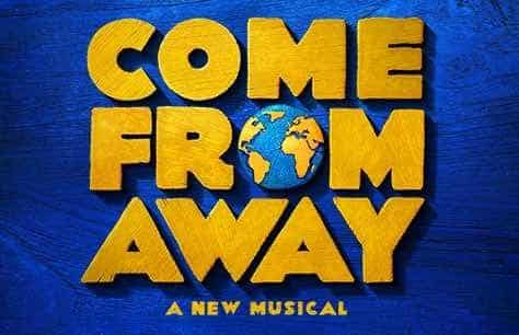 Come From Away and Dinner at Scoff & Banter - Bloomsbury