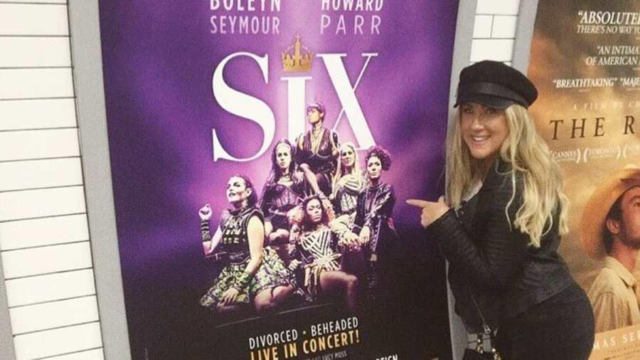 six the musical natalie paris