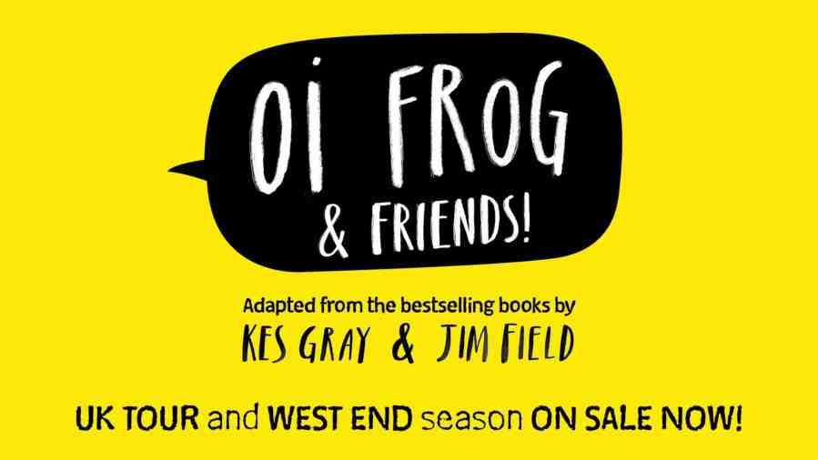 oi frog west end tour cast