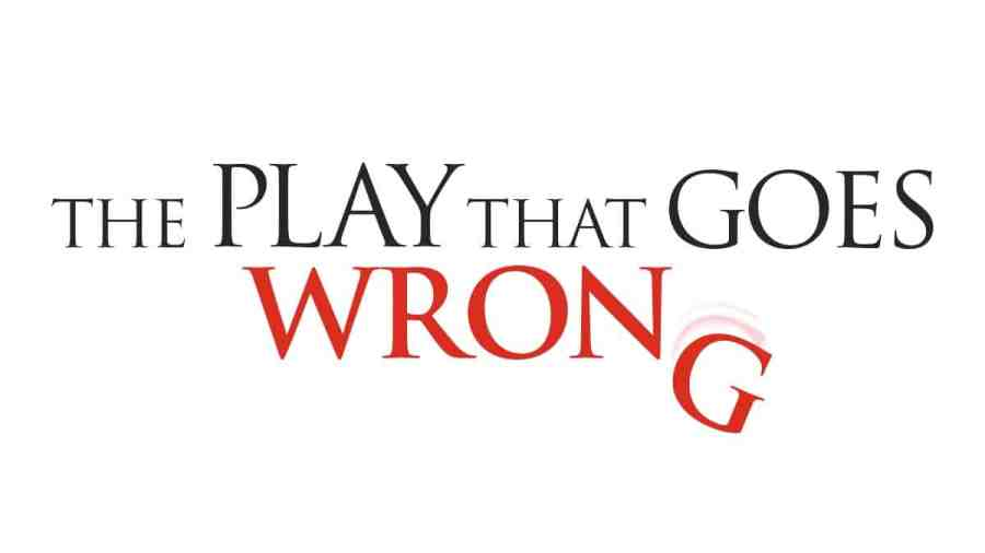 the play that goes wrong logo