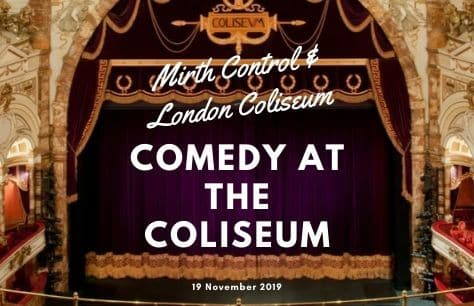 Comedy at the Coliseum