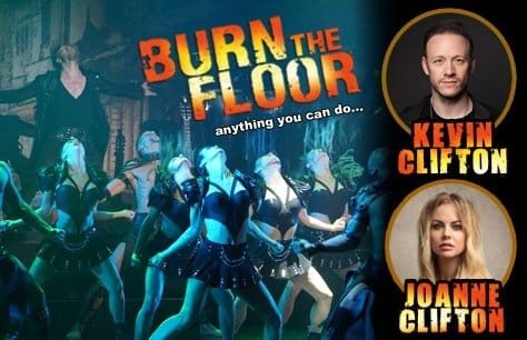 Kevin & Joanne Clifton in Burn the Floor