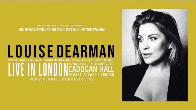 Louise Dearman Cadogan Hall solo concert