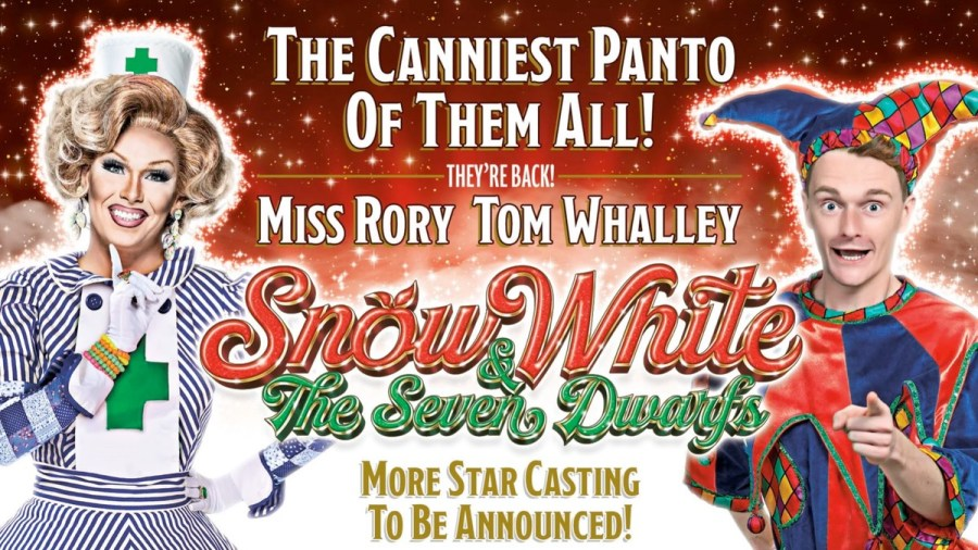Sunderland Empire Snow White 2020 panto tickets and cast