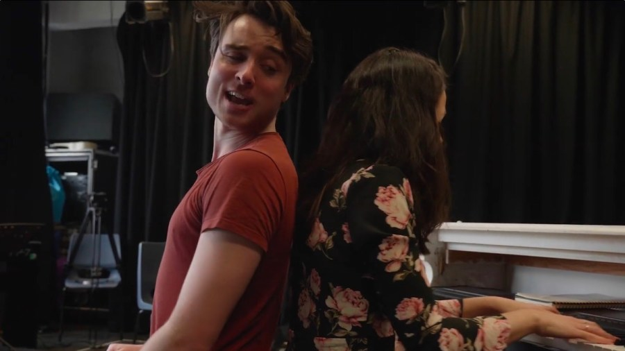 The Last Five Years Rehearsals Southwark Playhouse