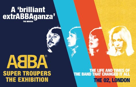 ABBA Super Troupers, The Exhibition