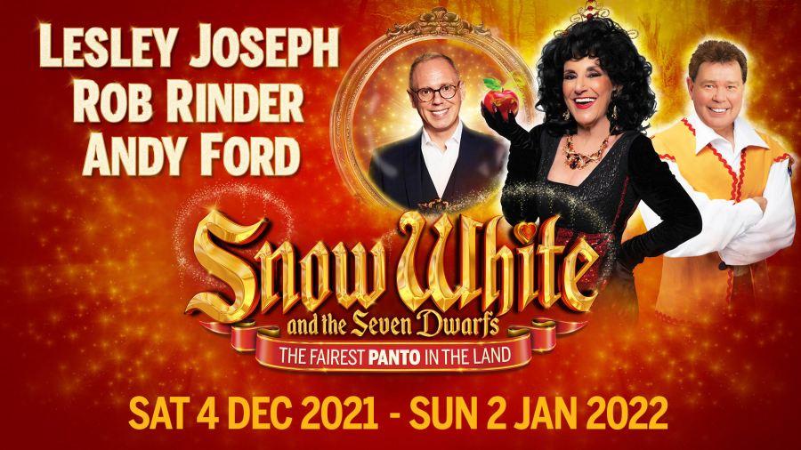 snow white bristol panto 2021 tickets cast