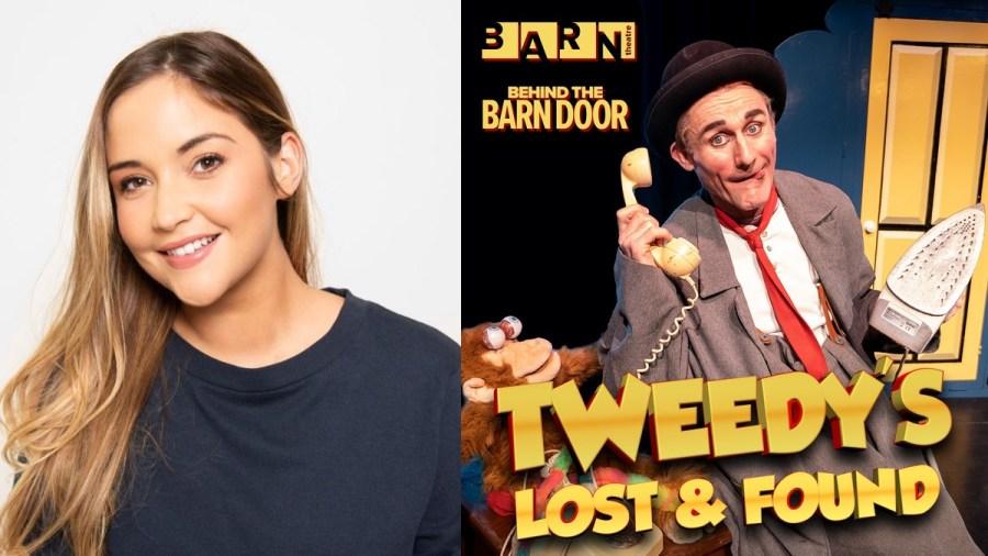Jacqueline Jossa barn theatre tweedy lost found