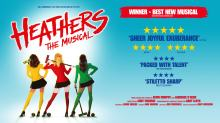 heathers the musical tour