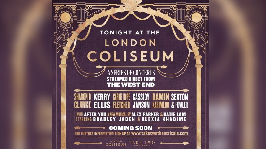 Tonight at the London Coliseum