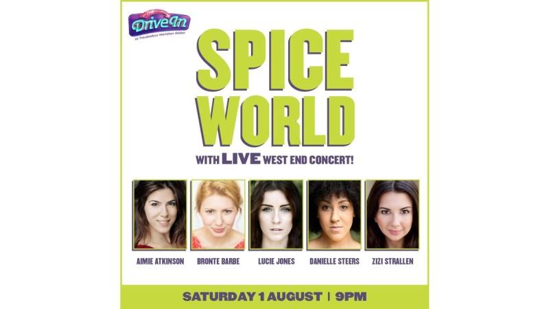 spice world concert