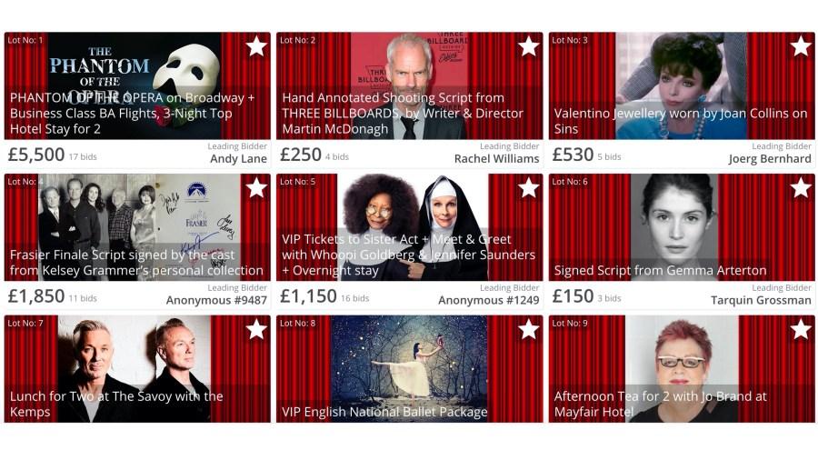 theatre super auction