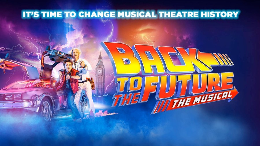 back to the future west end musical tickets cast
