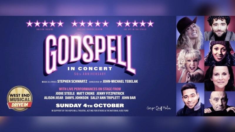 godspell concert screening drive in