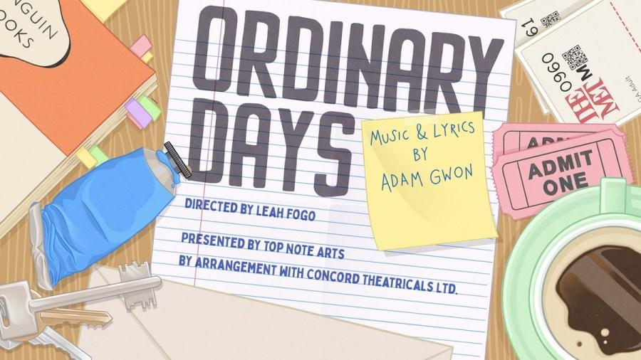 ordinary musicals
