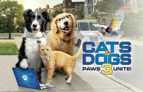 Cinema: Cats and Dogs 3: Paws Unite!