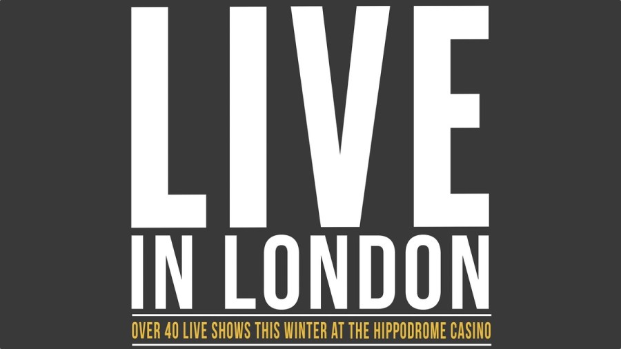 live in london The Hippodrome Casino