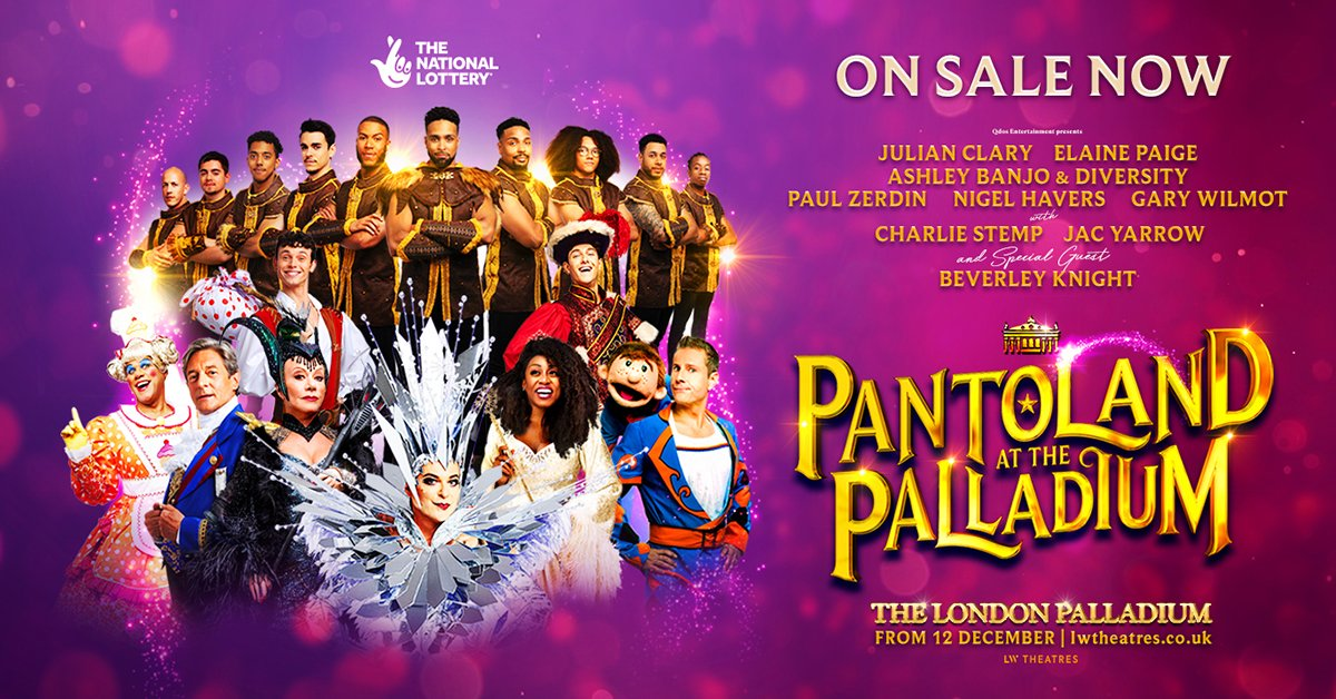 Pantoland at London's The Palladium