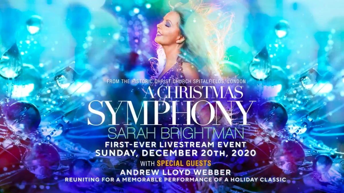 Sarah Brightman: A Christmas Symphony Concert at 's Sarah Brightman
