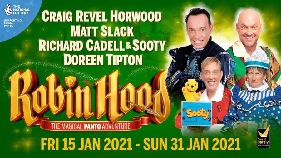 robin hood alexandra birmingham panto cast tickets