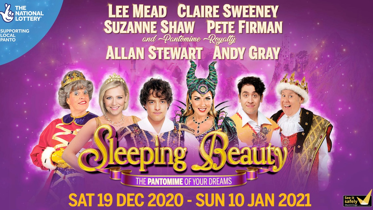 Sleeping Beauty at Milton Keynes's Milton Keynes Theatre