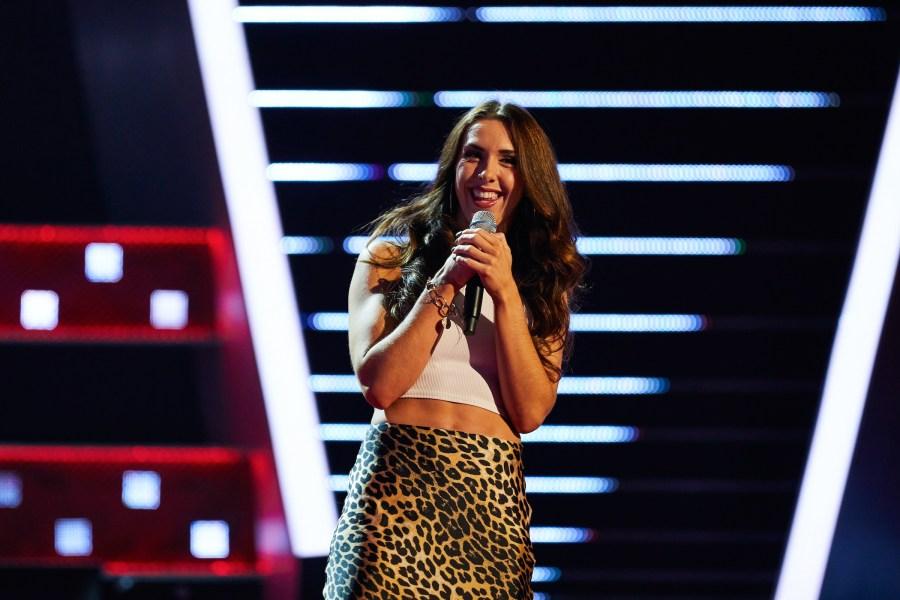 Lauren Drew on The Voice UK