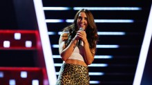 Lauren Drew on The Voice UK