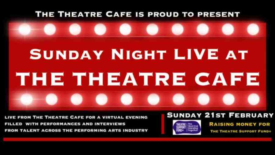 theatre cafe sunday