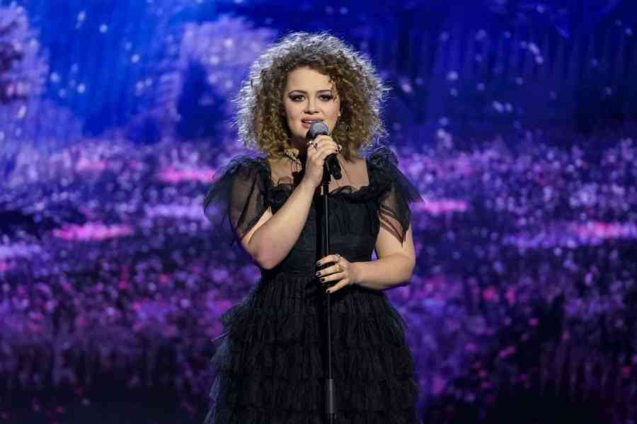 Carrie Hope Fletcher performs a song from Andrew Lloyd Webber's new Cinderella. Picture: ITV
