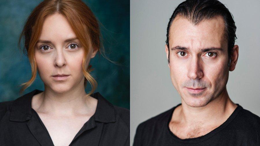 Headshots of Evelyn Hoskins (left) Ben Turner (right)