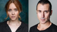 Headshots of Evelyn Hoskins (left) Ben Turner (right)