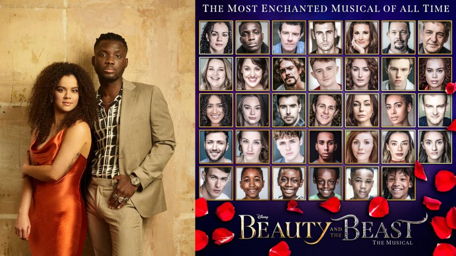 beauty and the beast uk 2021 tour cast