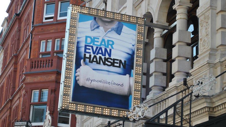 dear evan hansen west end