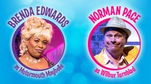 hairspray Brenda Edwards and Norman Pace